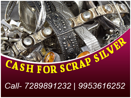 Cash for Silver in Moti Nagar